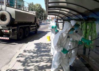 Marinha do Brasil atuando contra o Coronavírus