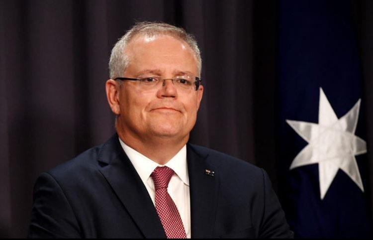 Scott Morrison, Primeiro Ministro da Austrália