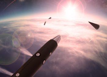 Infrared seekers para o sistema de armas de Defesa em Área de Alta Altitude - Ilustração BAE Systems