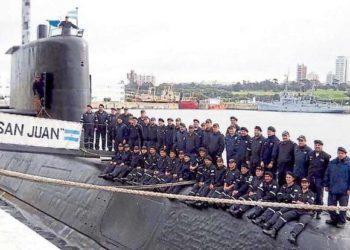 A última imagem da tripulação do ARA San Juan Foto: La Capital de Mar del Plata