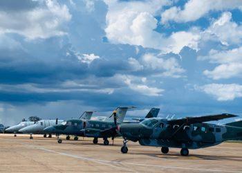 Aeronaves da FAB prontas para atuar na Operação COVID-19