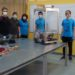 Estudantes israelenses e o Corobot Foto Technion