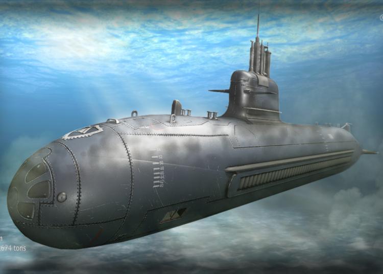 Submarino espanhol S-80