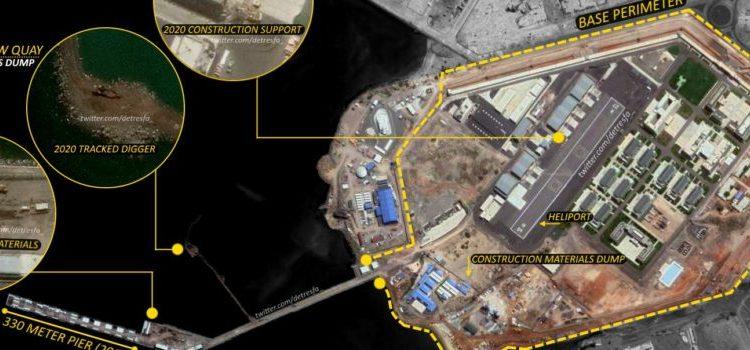 Base chinesa em Djibouti