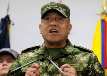 Chefe das Forças Armadas colombianas, Luiz Fernando Navarro Foto: Luisa Gonzalez / Agência O Globo