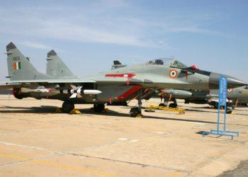 Mig 29 da Força Aérea da Índia