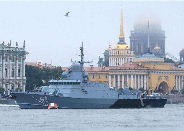 Corveta da classe Odintsovo Karakurt da Marinha Russa. Foto Iz.ru