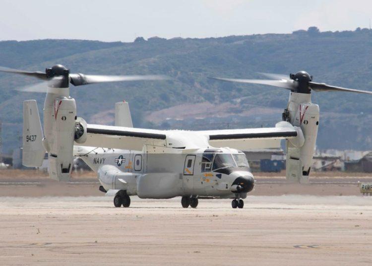 Primeiro CMV-22B-Osprey do VRM-30