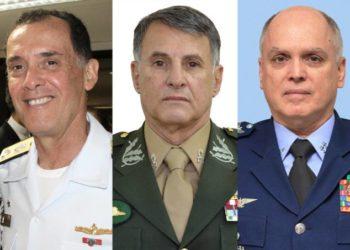 Comandantes das Forças Armadas do Brasil - Marinha, Exército e Aeronáutica