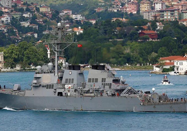 Destróier USS Porter (DDG 78) - © REUTERS / MURAD SEZER