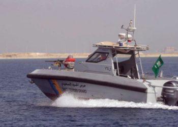 Barco da Guarda costeira da Arábia Saudita - Foto Asharq Al-Awsat