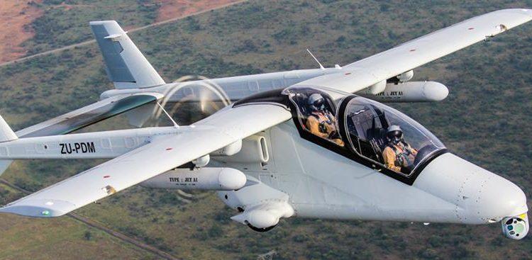 Sistema Argos II - Foto Hensoldt África do Sul