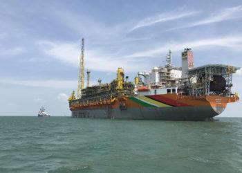 FPSO Liza da Exxon Mobil na Guiana - Foto Exxon