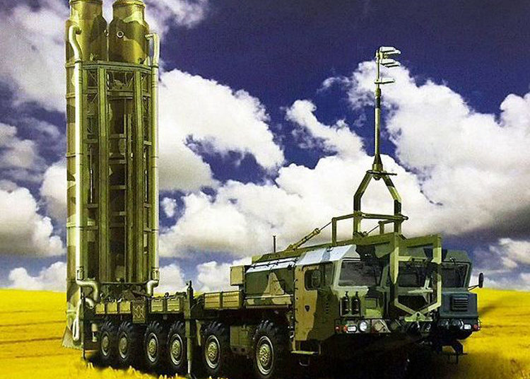 Sistema de Defesa russo S-500 Prometheus