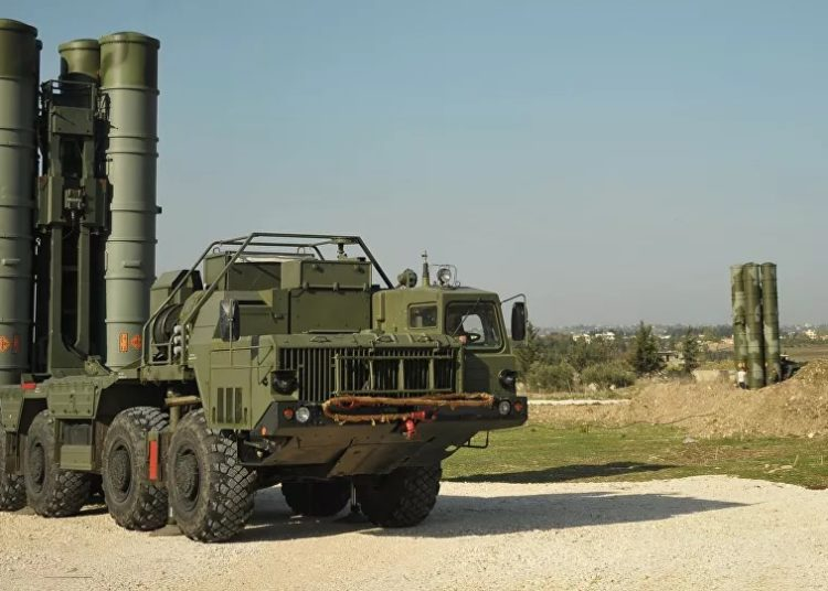 Sistema de Defesa Aérea da Síria - © Sputnik / Dmitry Vinogradov