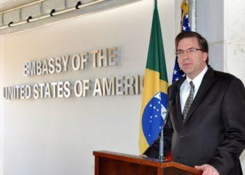 Todd Chapman, Embaixador dos EUA no Brasil,