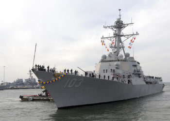 Destroyer USS Truxtun (DDG 103)