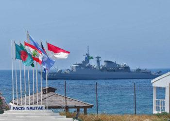 Fragata Independência em Naqoura-Líbano