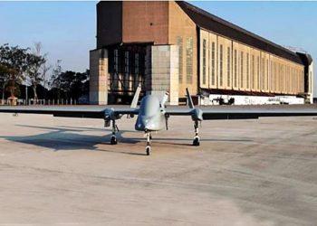 RQ-1150 Heron I do esquadrão Orungan na BASC - Ala 12