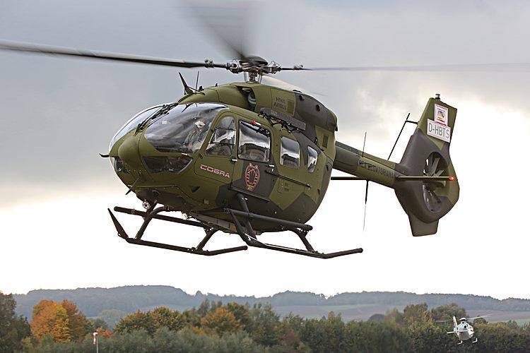 H145 da Força Aérea do Equador - Foto Patrick Heinz