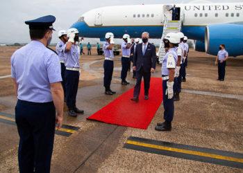 O Conselheiro de Segurança Nacional dos EUA, Robert O'Brien em visita oficial ao Brasil.