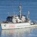 Caça minas da Marinha Italiana equipado com o Sonar 2093 da Thales