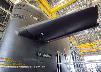 Vela do submarino Humaitá S 41