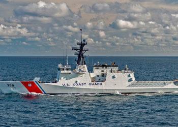 Cutter USCGC Stone Foto: Lance Davis