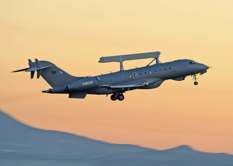 GlobalEye AEW&C. For editorial use only