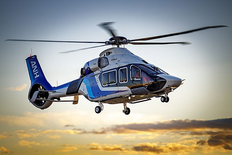 Airbus H160 da All Nippon Helicopter - Foto Eric Raz