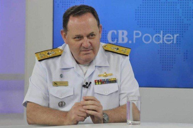 Vice Almirante Alexandre Rabello - Foto Marcelo Ferreira