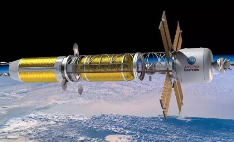 A ideia de motores de foguetes nucleares remonta aos anos 1940, mas a tecnologia só foi revisitada recentemente como uma solução para a exploração do espaço profundo Foto: Nasa