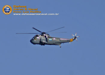 Homenagem do DAN ao Sea King destruído durante o incêndio a bordo do ARA Almirante Irizar.