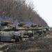 Blindados das Forças Armadas ucranianas