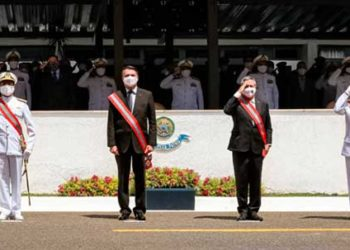 A cerimônia teve a presença do Presidente da República