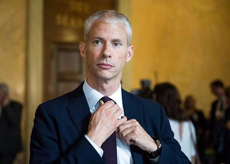 Ministro do Comércio Exterior da França, Franck Riester - Foto Christophe Morin