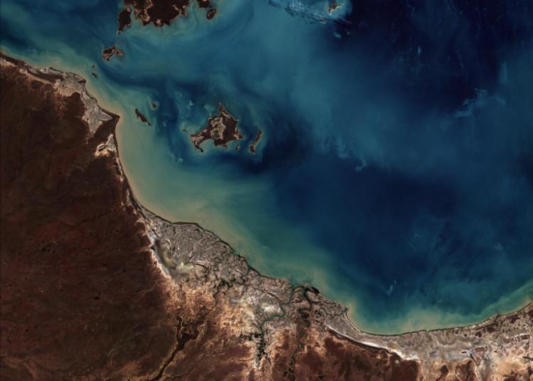 Burketown, Australia - Imagem captada pelo satélite Amazonia 1 no dia 12 de maio de 2021