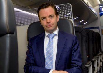 Arjan Meijer, presidente-executivo da Embraer Aviação Comercial