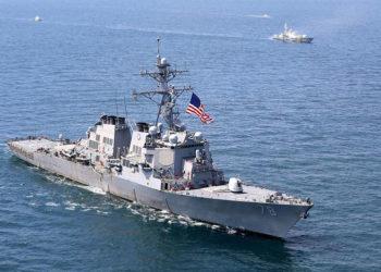 USS Porter - Exercício Sea Breeze