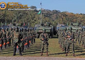 Grupamento Operativo de Fuzileiros Navais no apronto para a Visita de Avaliação e Assessoramento (AAV)