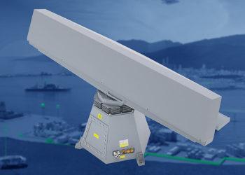 Radar Kelvin Hughes Mk11 SharpEye with combined HENSOLDT MSSR 200 IFF (Foto: Hensoldt)