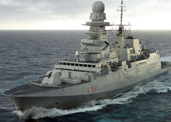 Fragata FREMM Luigi Rizzo (F 595)