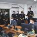CAMAS e delegação durante explanação e visita às instalações da Armada do Uruguai
