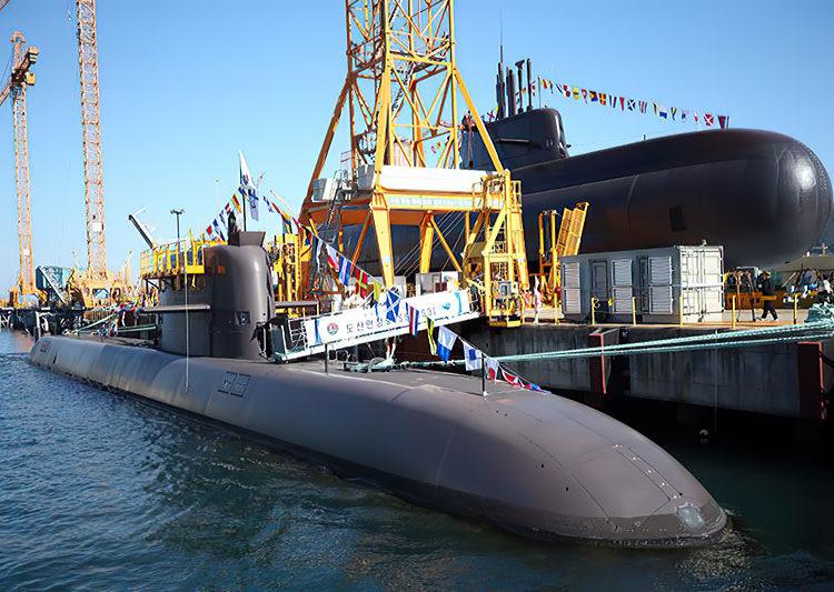 Submarino Dosan Ahn Changho (SS 83) Foto ROK Navy