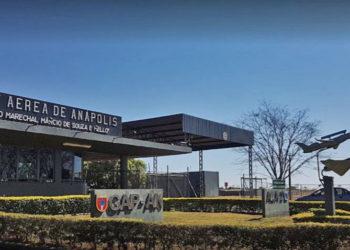 Entrada da Base Aérea de Anápolis - Foto: Fernando Henrique Freire Machado