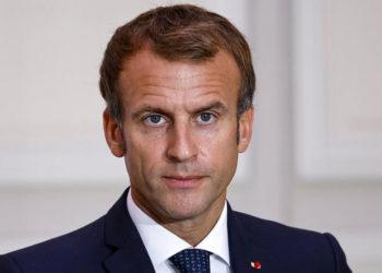 Emmanuel Macron, presidente da frança - Foto Ludovic Marin