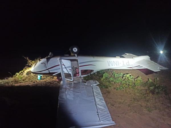 Aeronave abatida pela FAB