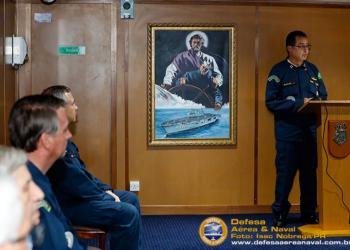 Comandante da Marinha anuncia o estaleiro Jurong Aracruz/SEMBCORP vencedor da licitação