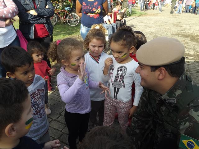 Ação cívico social - Visitação de Escolas