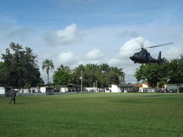 Balizamento de helicóptero